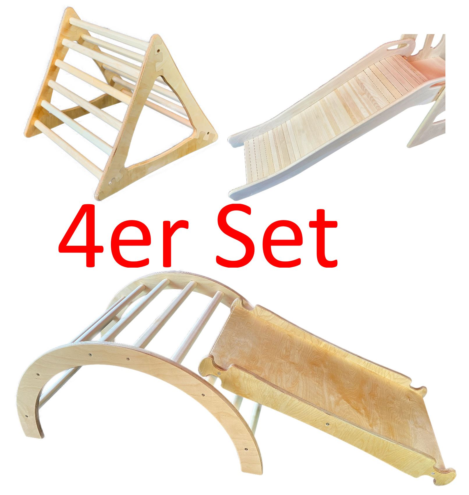 4er Set Pikler Spiellandschaft